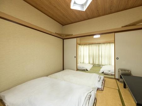 【喫煙】和室四人部屋(バストイレなし)