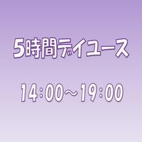 【14:00〜19:00】5時間デイユース★部屋タイプおまかせ