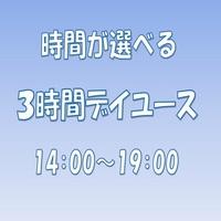 【14:00〜19:00】選べる3時間デイユース★部屋タイプおまかせ