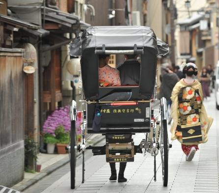 【人力車体験】☆人力車に乗って思い出☆朝食付プラン♪