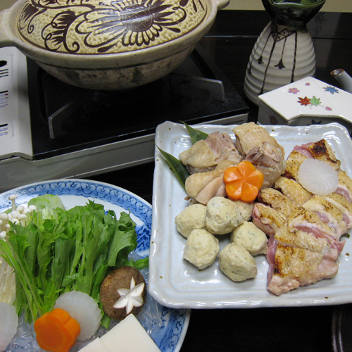 宮崎産地鶏のお鍋