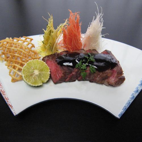 グレードアップ ステーキ