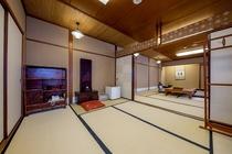 和室12+6畳(約46㎡)のお部屋の一例