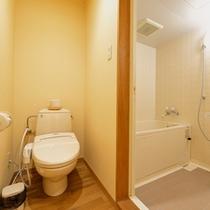 *清潔を心がけたお手洗い&バスルーム。
