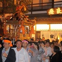 【白根神社祭礼】例年7月17・18日に行われるお祭。温泉街が最も活気づく2日間です!