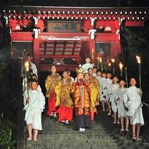 【草津温泉感謝祭】例年8月1・2日に開催されるお祭。