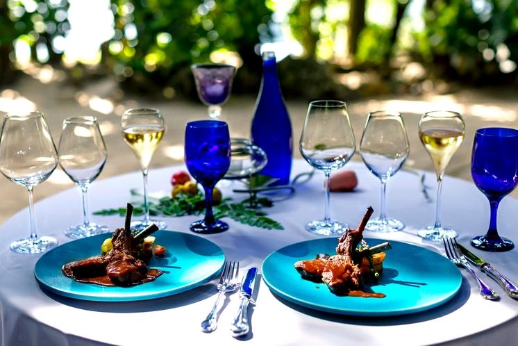 Birth プライベートディナー 沖縄の旬の食材を調理し 特別なテーブルをご用意さしあげます