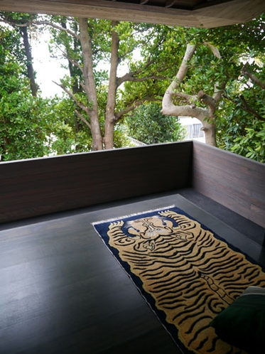 フクギに包まれたお部屋(Tree top suite)