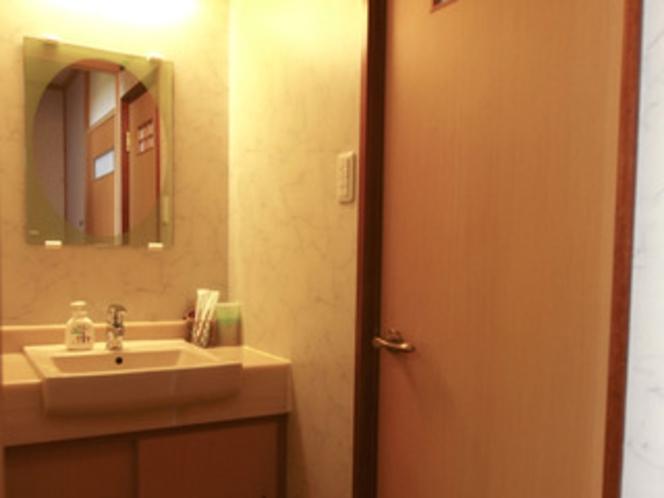 客室内洗面所の一例