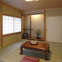 「 お部屋 」はすべて造りが異なる、趣きある和室です
