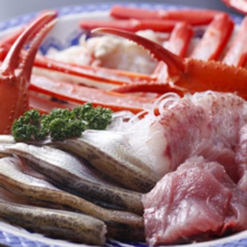 「 ジオ鍋 」食材の一例