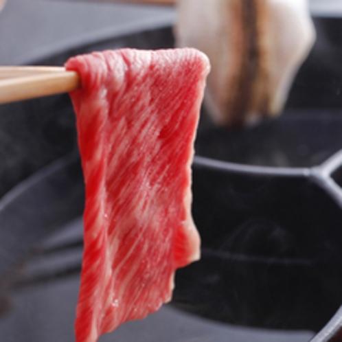 「 ジオ鍋 」食材の一例 〔但馬牛〕