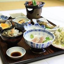 *【梅花皮コース(一例)】基本に3品追加されたお料理内容。
