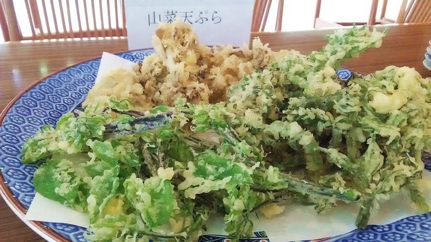【山菜の天ぷら】