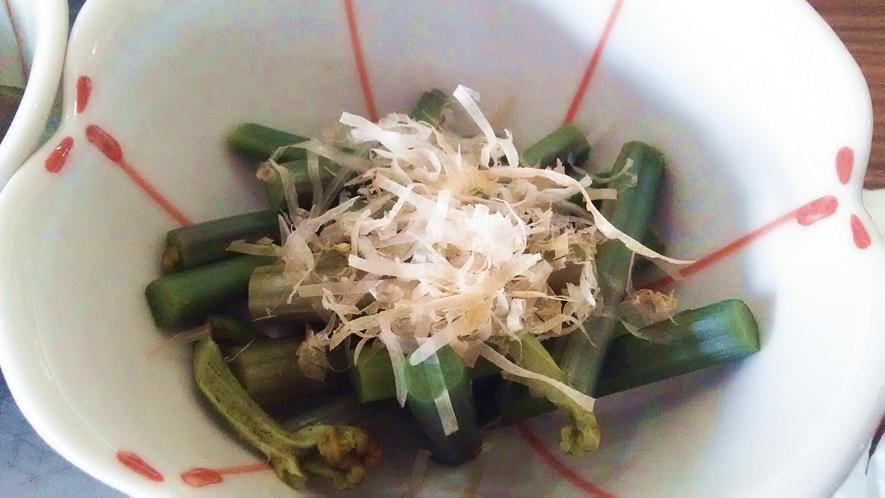 【山菜の小鉢】ワラビ