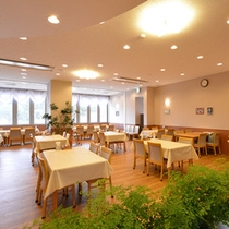 *レストラン/お食事を心地よくお楽しみいただける、明るく開放的なレストラン。