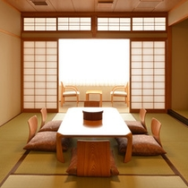 *和室/旅の疲れを癒す畳の客室。のんびりとお寛ぎ下さい。