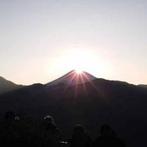 *【ダイヤモンド富士】山頂に朝日が昇る貴重な一瞬!
