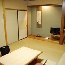 落ち着いた雰囲気の和室 客室一例 1