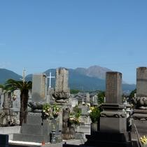 【周辺】キレイに整備された世界遺産候補のキリシタン墓碑