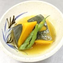 【夕食一例】かぼちゃの煮物