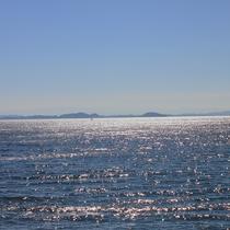 【景色】海側のお部屋からの眺め(ある夏の日)