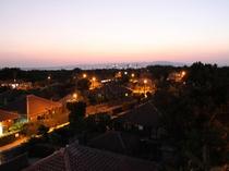 竹富島の夜の風景