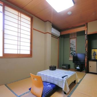 和室6畳(格安ルーム)※バス、トイレ共同【無料WiFi】