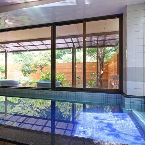 令和元年9月1日オープン!男性内風呂からテラス露天風呂