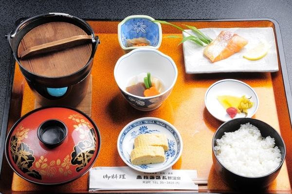 体に優しい和朝食