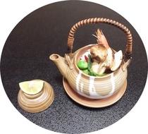 秋限定 松茸の土瓶蒸し
