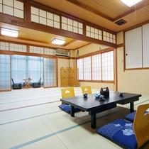 和室12畳+15畳※グループ旅行に最適!