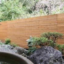 令和元年9月1日オープン!女性大浴場のテラス露天風呂内庭