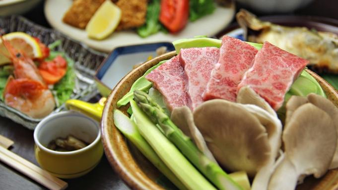 雫石牛の陶板と野菜ソムリエ女将の手作り料理[1泊2食]