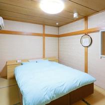 9号室ベッドルーム
