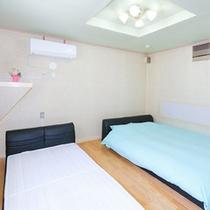 3号室の寝室