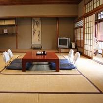 【部屋一例】どのお部屋も「隠れ家」という風情で、静かな大人の旅を楽しんで頂けます。