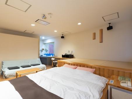 【喫煙】手作りモクモクベットのお部屋