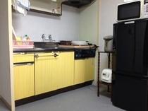 和洋室タイプ508室キッチン