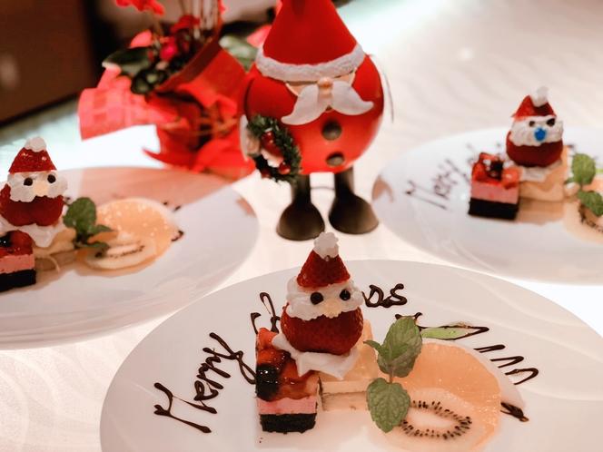 クリスマス限定デザート
