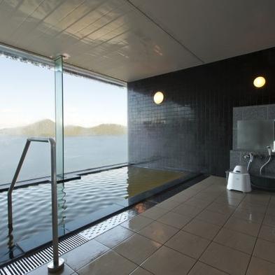 天空貸切風呂50分付き(夕食:ブッフェ)〜洞爺湖の絶景をひとりじめ