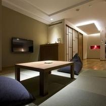 【展望風呂付客室】和洋室、4名様定員のお部屋です。