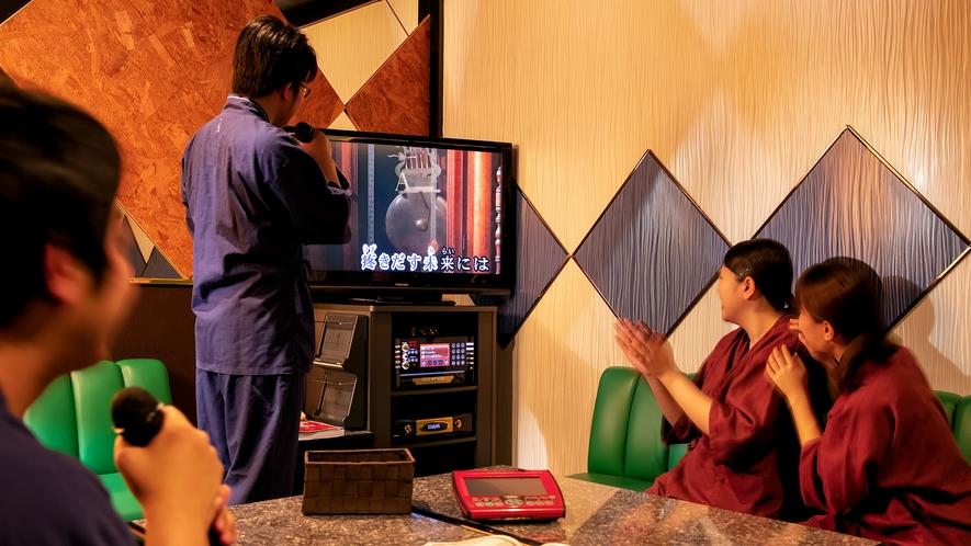 【GANBA!】カラオケボックス(個室)もご用意。仲間同士やご家族での利用もおすすめ(60分おひとり