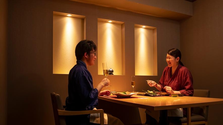 【乃の風茶寮】大切な方と個室で愉しむ拘りの和食会席。ゆったりと落ち着いた雰囲気で気兼ねなく。