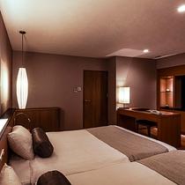 【スパリゾート館特別室】68㎡の広々とした客室。5名様まで宿泊いただけます。