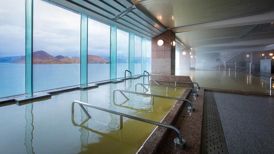 【大浴場】2020年リニューアルの展望大浴場『EZOFUJI』