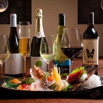 【ワインペアリング一例】厳選食材を使った和食会席に合うワインで、ワンランク上のお食事を…
