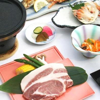 【巡るたび、出会う旅。東北】〜グレードアップ〜夕食は少しリッチに!溶岩焼きでお肉を堪能♪2食付
