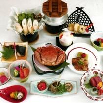 *ご夕食一例/彩り豊かな料理は、旬味たっぷり。