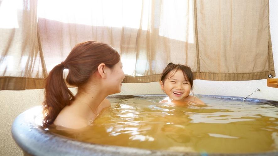 客室露天風呂 4